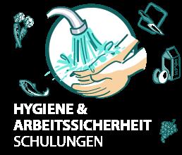 Hygiene und Arbeitssicherheit - Schulung